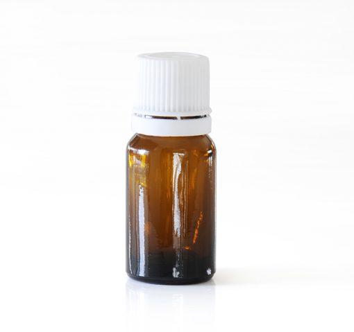 1x 10ml Amber Glass Bottle